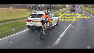 Nils Eekhoff's World Championship Road Race Disqualification Cycling News