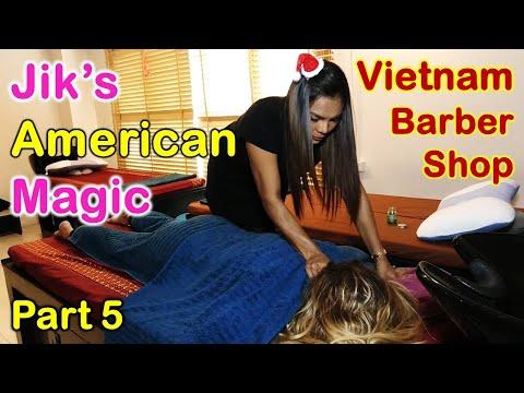Vietnam Barber Shop Jik's American Magic - Seoul Massage (Bangkok, Thailand) Part 5
