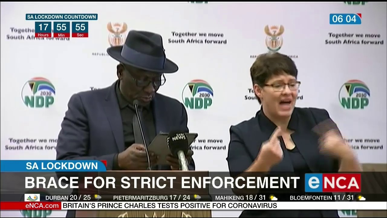 SA lockdown: Brace for strict enforcement - eNCA