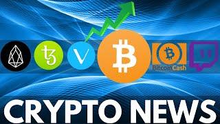 Bitcoin Dominance over 80%?! VeChain Bull Run, Tezos Update, EOS Adoption - Crypto News