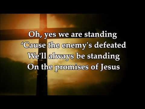 Standing with lyrics by Elevation Worship
