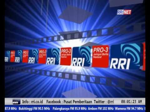 RRI NET Warta Berita 08.00 WIB  Kamis  04 August 2016