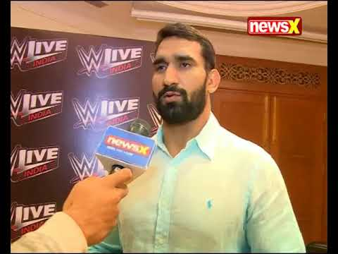Indian wrestler Satender Dagar ( Jeet Rama ) on WWE Match in New Delhi