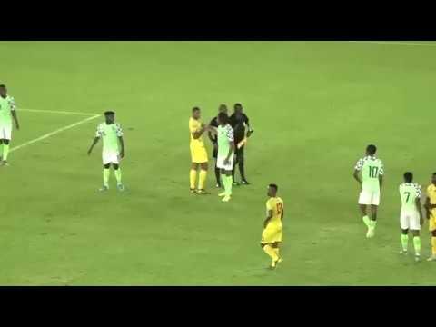 2021 AFCON Qualifier.  Nigeria 2-1 Benin Republic.