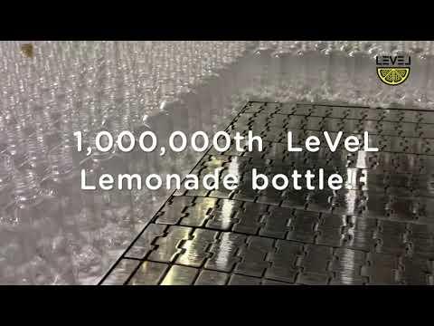 Level Lemonade Million Bottle YouTube Video