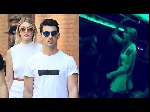 Taylor Swift Raps in Party Bus for Joe Jonas Bday!
