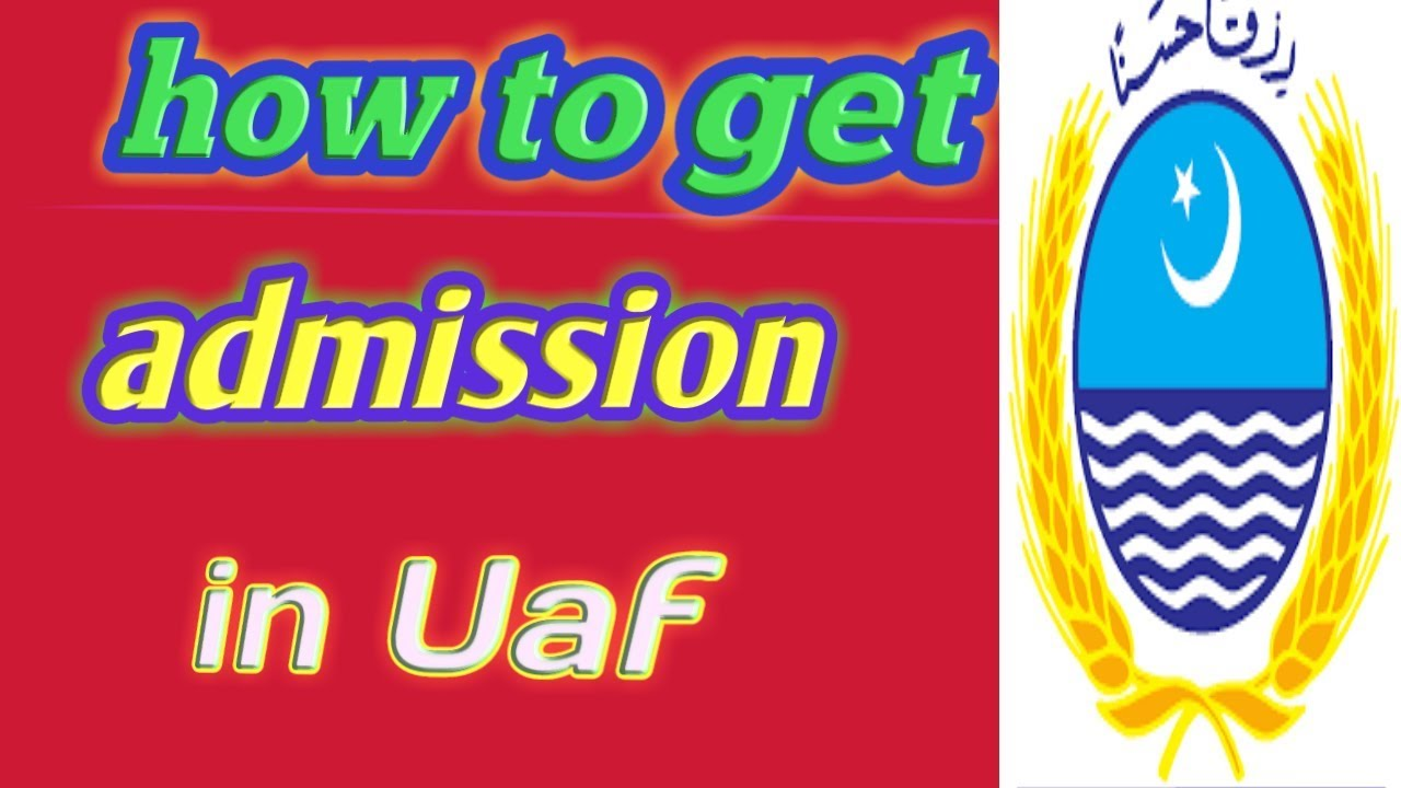 6 15 MB] How to get admission in Uaf || Uaf admission || by Malik