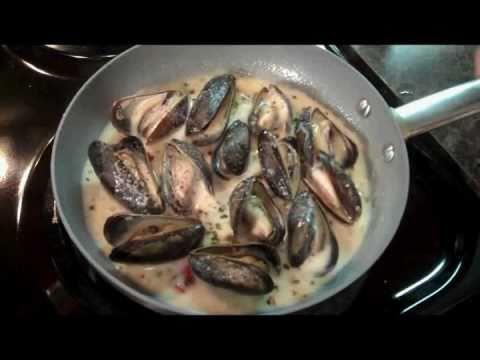 Mussels In Cream Sauce