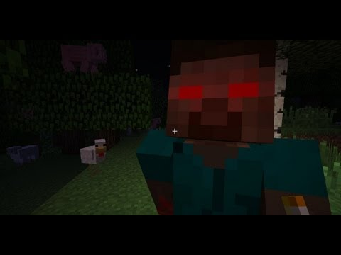 Minecraft: Survival with Herobrine #1