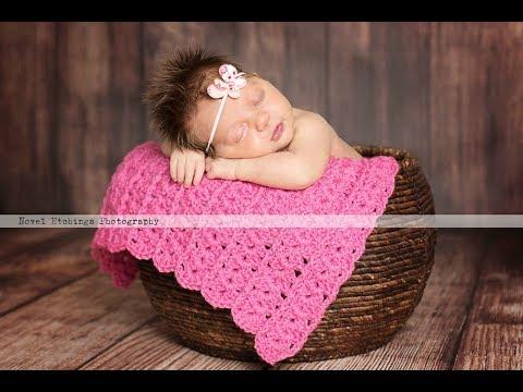 Carousel Blanket Crochet Pattern    Crochet Tutorial