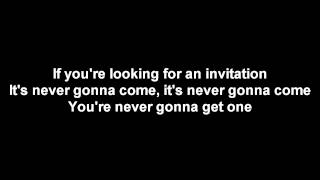 Benji Hughes - Waiting For An Invitation [LYRICS]