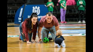 Another baby race storms Zalgirio Arena hardwood