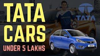 Top 5 Tata Motors Cars under 5 Lakhs 2016-17 [Reviews, Pics, Specs, Mileage & More..]