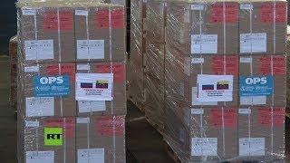 Venezuela: la llegada de 7,5 toneladas de medicamentos provenientes de Rusia