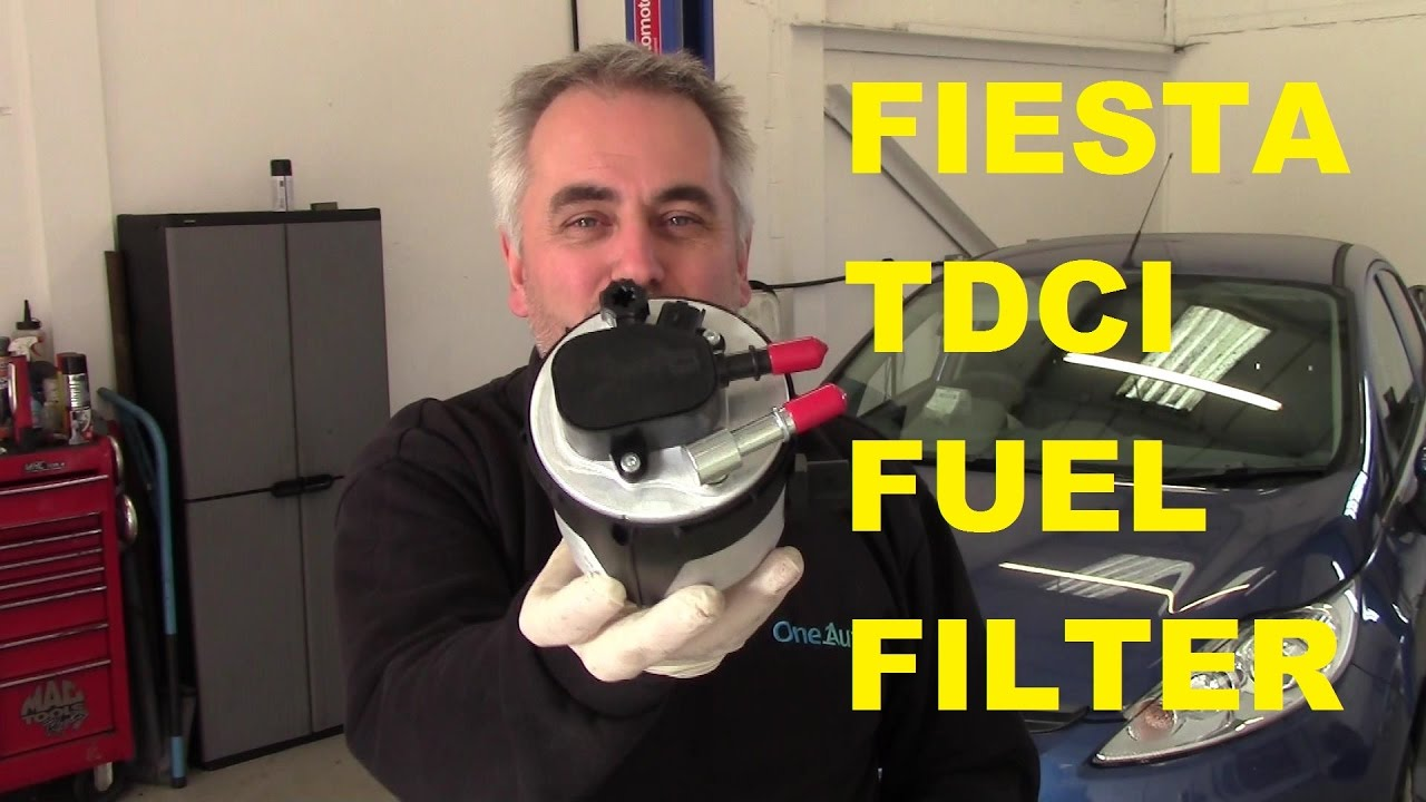 Ford Fiesta 1 6 Tdci Diesel Fuel Filter 2008 On Youtube