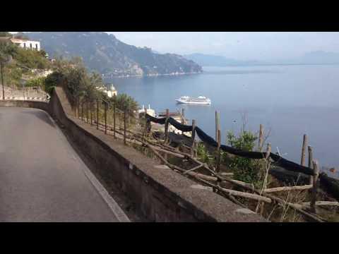 Driving Amalfi Cost Italy