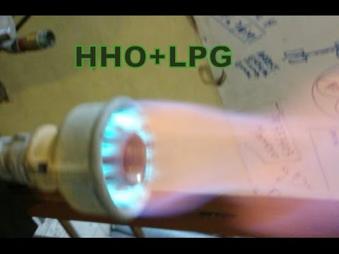 Save 50% LPG  adding HHO to your Industrial burner
