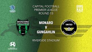 2019 NPL Capital u20s & 1st Grade Round 13 - Monaro Panthers FC v Gungahlin United FC