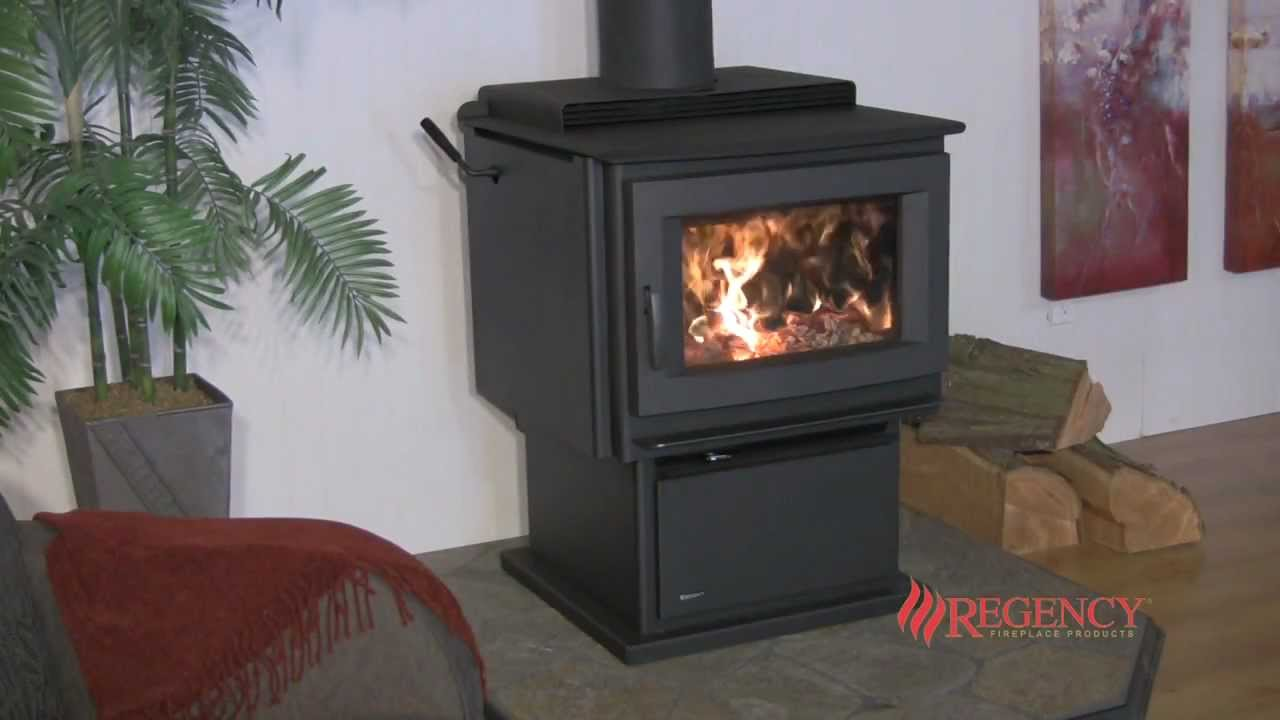 - Regency F5100 Extra Large Hybrid Wood Stove - YouTube