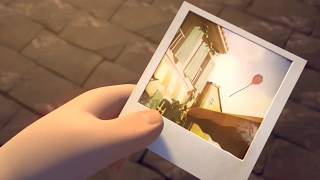 Alan Walker ft.Halsey - Ghost (cute animation)