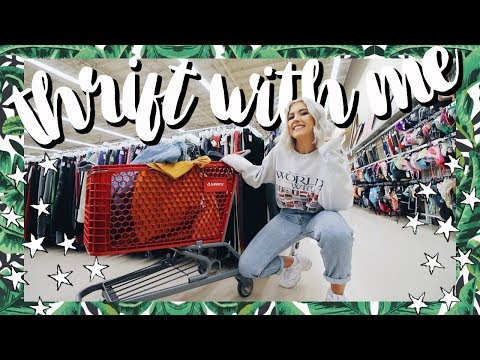 Come Thrift With Me | Thrifting 2019 Fashion Trends | LAST TRY ON THRIFT STORE HAUL OF 2018
