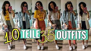 10 Teile 35 Outfits | Unter 260€ | Klamotten endlos kombinieren | ASOS HAUL