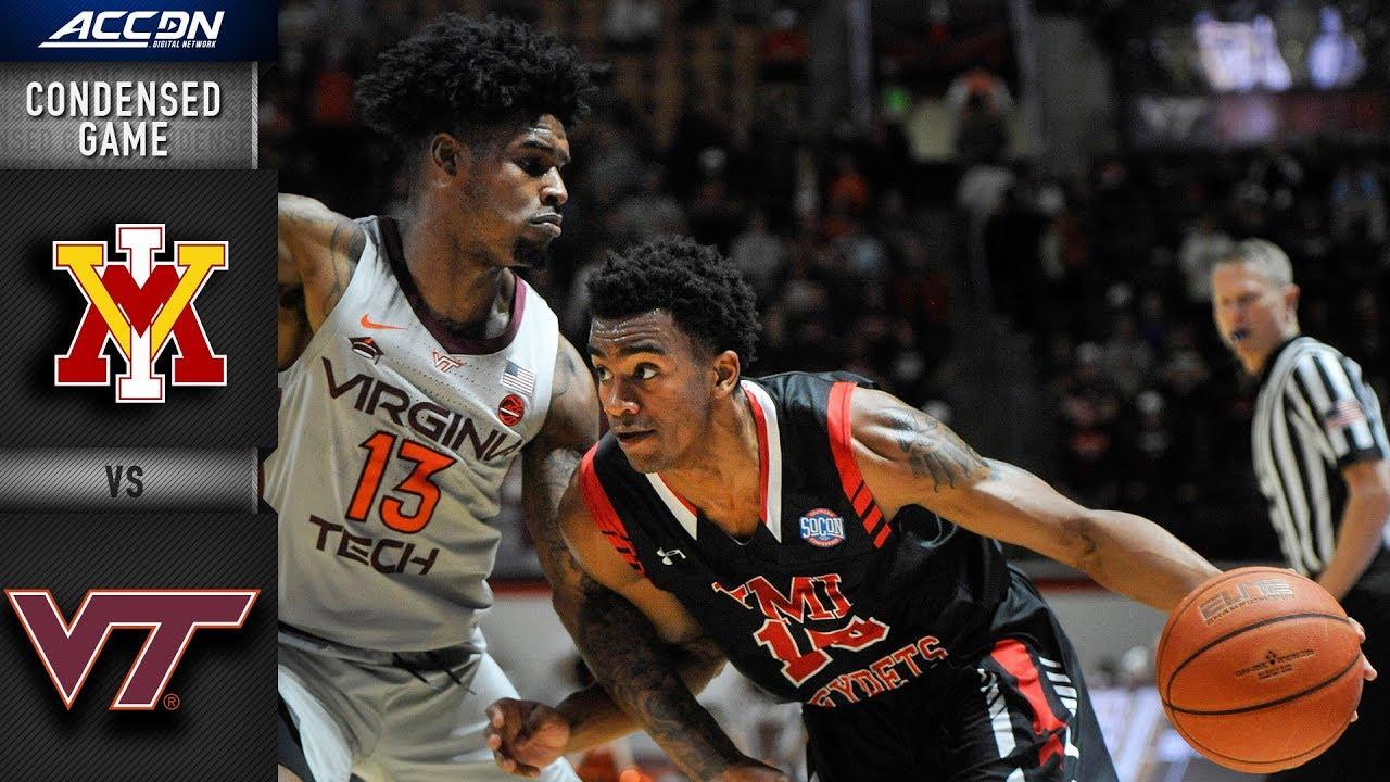 Vmi Vs Virginia Tech Condensed Game 2018 19 Acc Basketball Youtube