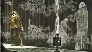 Гамлет в иллюстрациях Бродского и Делакруа