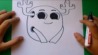Como dibujar a Penny paso a paso - El asombroso mundo de Gumball  | How to draw a Penny