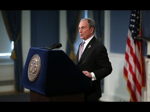 Mayor Bloomberg Announces More People Moving in to New York City than Moving Out