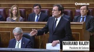 """Rajoy a Iglesias sobre las vacaciones de Soria: """"Para eso no sé para qué me pregunta"""""""