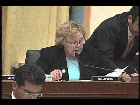Rep. Zoe Lofgren Explains Shortcomings of the Gowdy Amendment to Republican's VAWA Bill