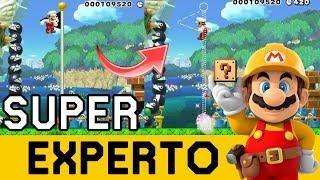 EL ATAQUE DE LOS JAPOS PILLOS TROLL MÁXIMOS!! - SUPER EXPERTO NO SKIP | Super Mario Maker - ZetaSSJ