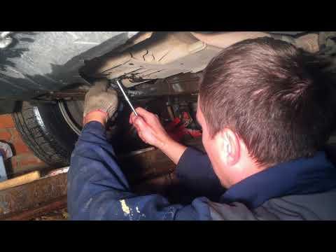 Замена масла в АКПП Honda Civic 7