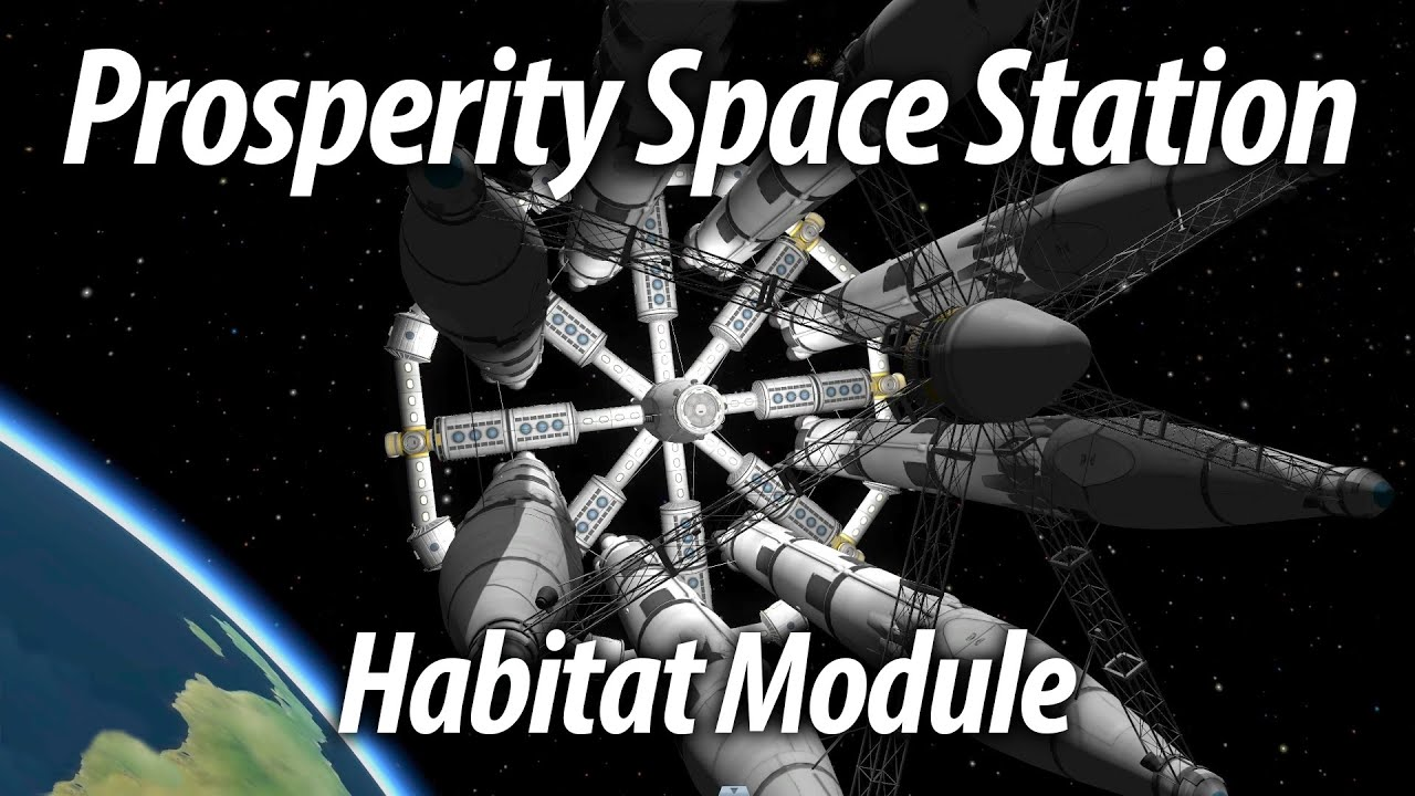 Super Habitat Module (Tutorial: 22) Kerbal Space Program 1 ...