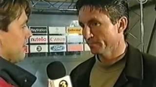 Rosenborg - Athletic Bilbao  Mesterliga 1998/99 : Intervjuer