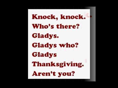 Thanksgiving Jokes Youtube - thanksgiving knock knock jokes kid friendly