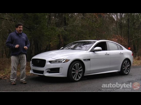 2017 Jaguar Xe 35t R Sport Awd Test Drive Video Review Supercharged V 6
