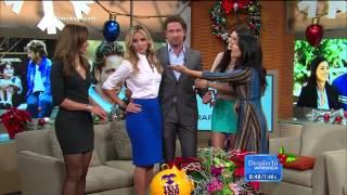 Gerard Butler has good taste; 2012/11/27 ¡Despierta América! HD