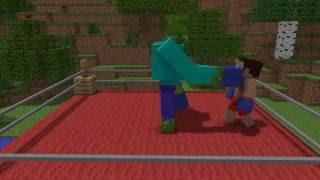 Школа Монстров Minecraft анимация   Урок Бокса