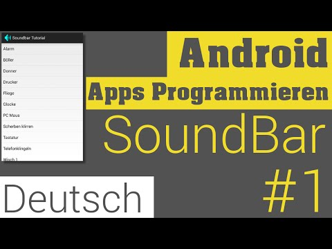 SoundBoard #1 - Sounds Abspielen - Android Apps Programmieren [Deutsch / German]
