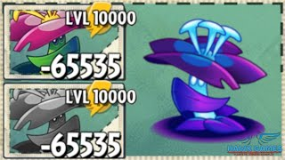 Plants vs Zombies 2 Grimrose Upgraded to Level 10000 PvZ2