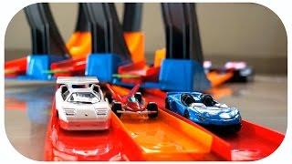 Mainan Anak Mobil Mobilan | Track Racing | Hot Speed | Hot Wheel Kw | Unboxing N