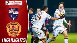Ross County 1-2 Motherwell | Late Drama As Motherwell Score Brace! | Ladbrokes Premiership