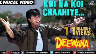 koi-na-koi-chahiye---al-deewana-shahrukh-khan-90-s-superhit-bollywood-hindi-song