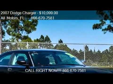 2007 Dodge Charger Base 4dr Sedan For Sale In Homestead