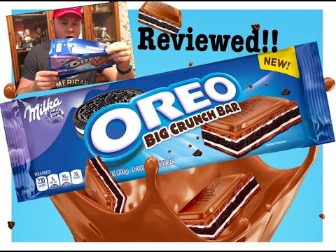 BRAND NEW OREO MILKA BIG CRUNCH BAR REVIEW | THE SHOWSTOPPER SHOWS