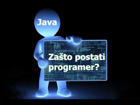 Zasto postati programer?