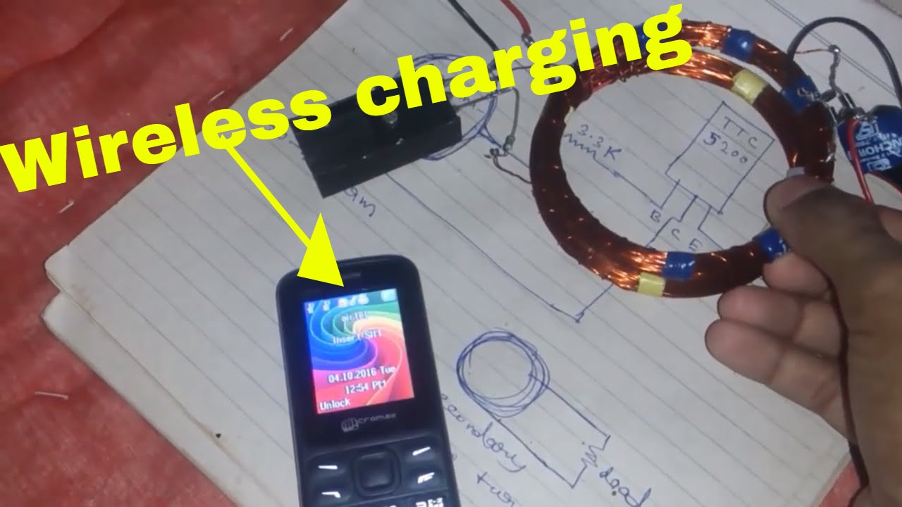 How To Make A Wireless Mobile Phone Charger Qi Youtube Circuit Diagram