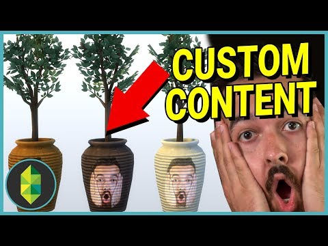 I AM A PLANT! Making Custom Content (The Sims 4)